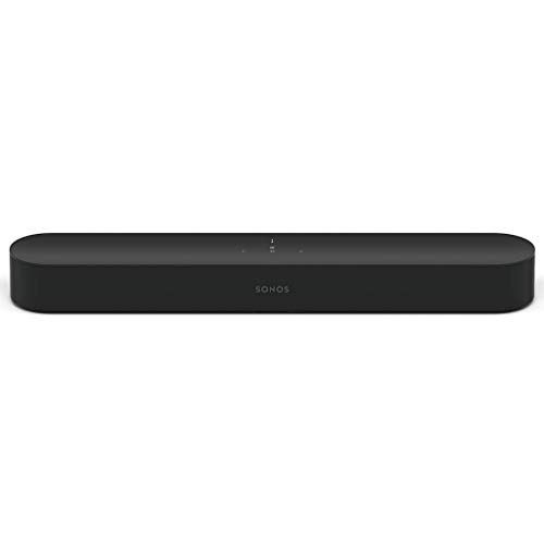 Sonos Beam Smart Soundbar, schwarz – Kompakte TV...