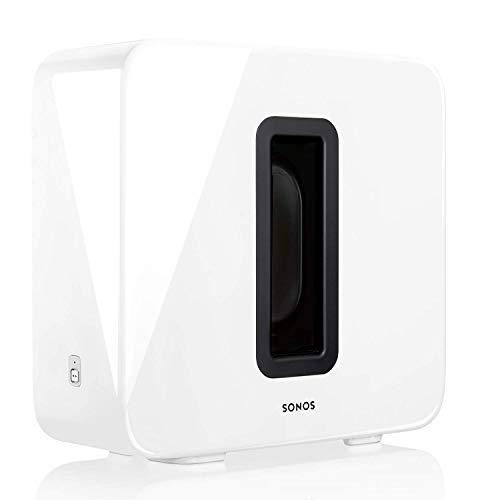 Sonos Sub, weiß – Leistungsstarker WLAN...