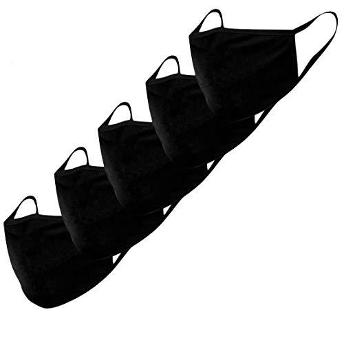 Stoffmaske Mund-Nasen-Schutz Behelfsmasken 5...