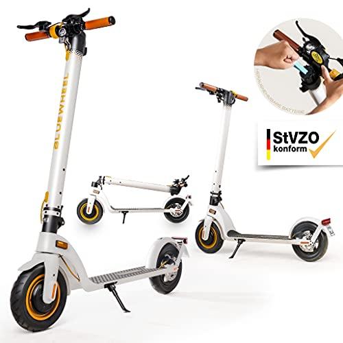 """BLUEWHEEL 10"""" Design E-Scooter mit Straßenzulassung   Deutsche..."""