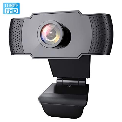 wansview Webcam 1080P mit Mikrofon, PC Laptop...