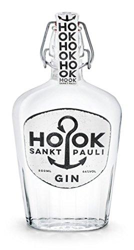 HOOK Gin / kräftiger Dry Gin direkt aus Hamburg Sankt Pauli mit 6...
