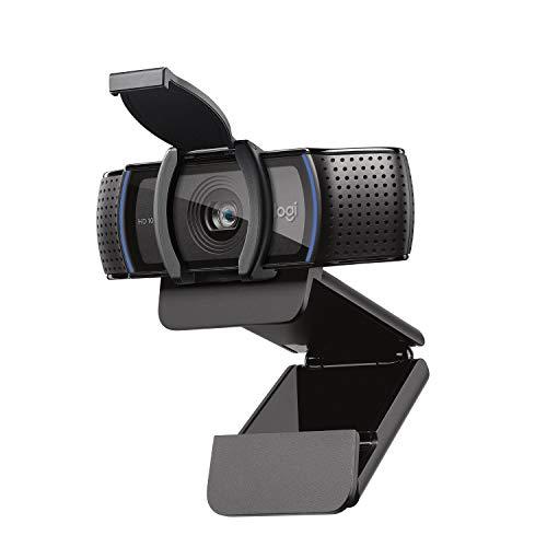 Logitech C920s HD PRO Webcam, Full-HD 1080p, 78° Blickfeld,...