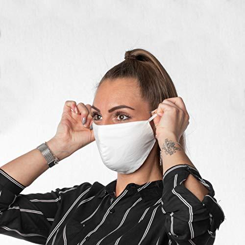 VitaCare 3 Stück Mund Nasen Maske aus 100%...