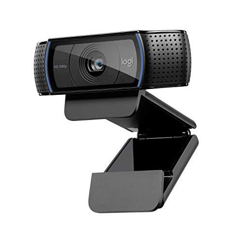 Logitech HD Pro Webcam Schwarz schwarz