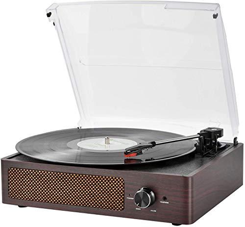 Vinyl Plattenspieler, Bluetooth tragbaren Vinyl...