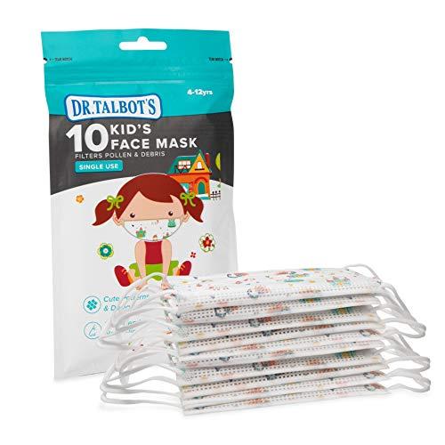 Nuby Mundschutz Maske für Mädchen- 4-12 Jahre