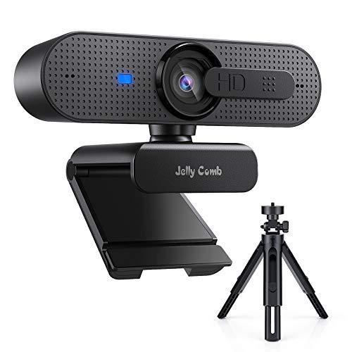 Jelly Comb HD USB Computer Webcam mit Stativ Set...