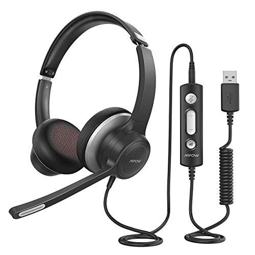 Mpow PC Headset HC6, 3,5mm Klinke Headset...