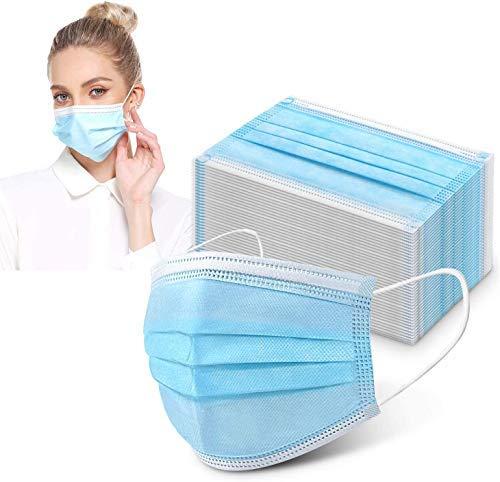 50 Stück Mundschutzmasken Masken 3-lagig...