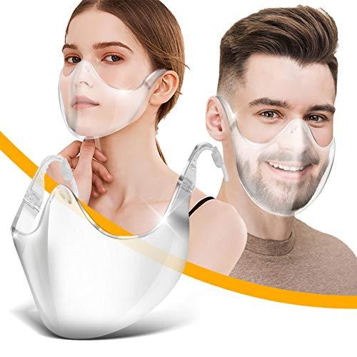 AmyGline Gesichtsvisier Plastik,Premium...