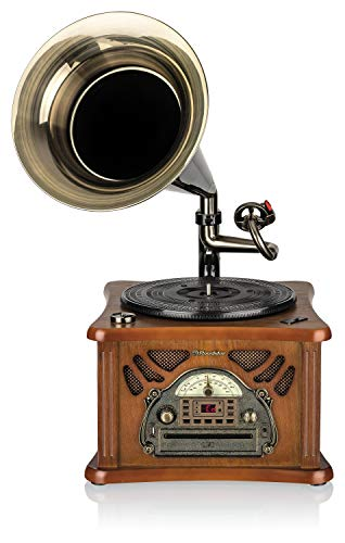 Roadstar HIF-1850TUMP Retro-Musikanlage mit...