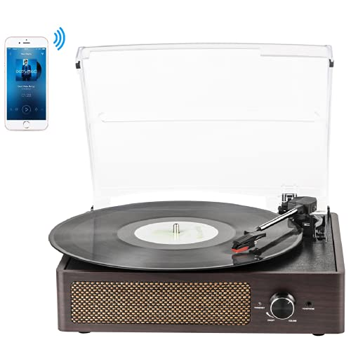 Vinyl Plattenspieler, Bluetooth tragbaren Vinyl Plattenspieler...