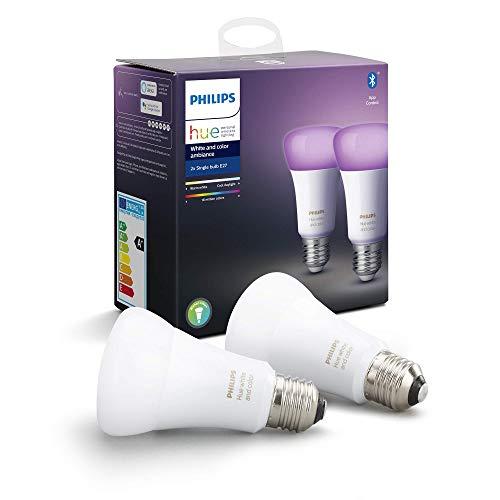 Philips Hue White & Color Ambiance E27 LED Lampe...