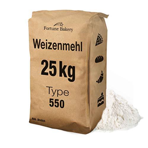 Weizenmehl 25kg Mehl Typ 550 - DEUTSCHER...