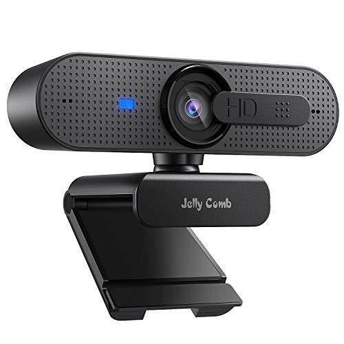 Jelly Comb 1080P HD Webcam mit Objektivdeckel,...
