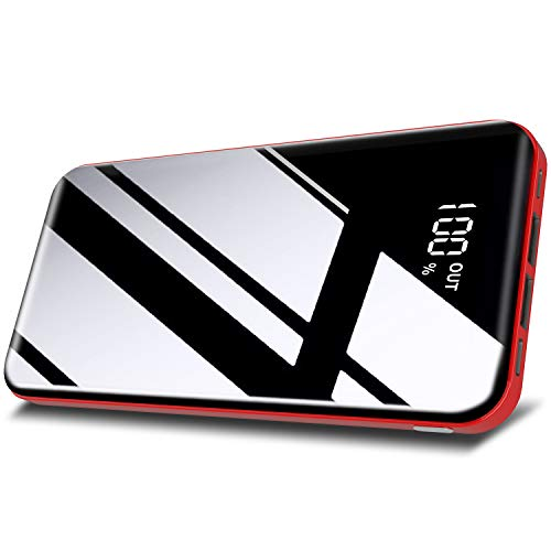 Todamay Powerbank 26800mAh Externer Akku Mit LCD Digital Display Hoher...