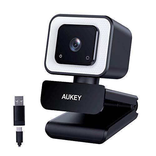 AUKEY FHD-Webcam, 1080p 60 BPS,...