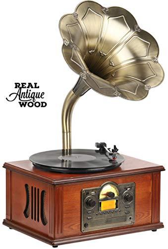 Retro Nostalgie Musikanlage | Grammophon |...