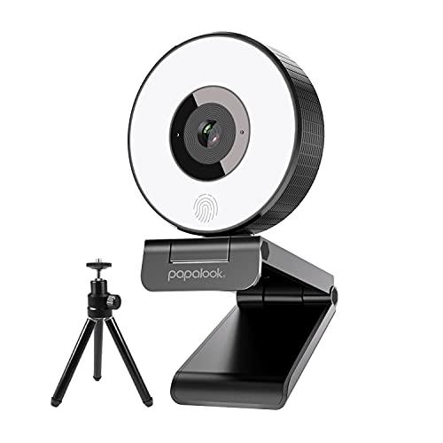 papalook Streaming-Webcam, PA552 Festem Fokus...