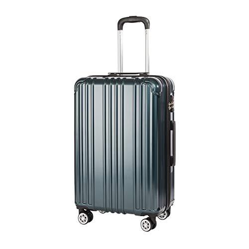 COOLIFE Hartschalen-Koffer Rollkoffer Reisekoffer...