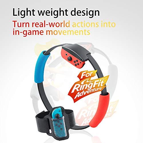 HONGSHAN Switch Fitnessring, verstellbarer elastischer Beingurt,...