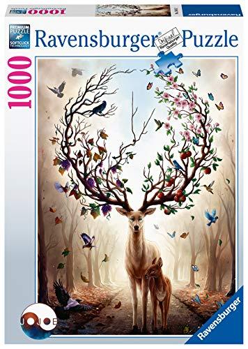 Ravensburger Puzzle 15018 - Magischer Hirsch - 1000 Teile Puzzle für...