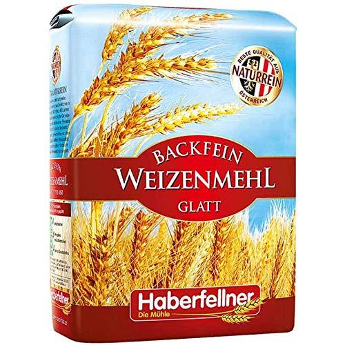 Haberfellner Weizenmehl Type 405 / W480 glatt (5...