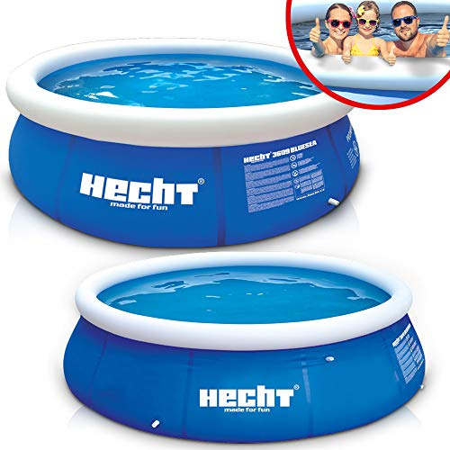Großer HECHT Quick Up Pool Familienpool – 360 x...