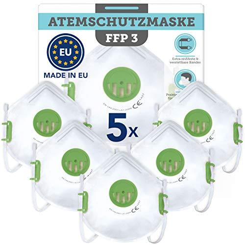 5 Stück CE-zertifizierte Masken (Filtering Face...