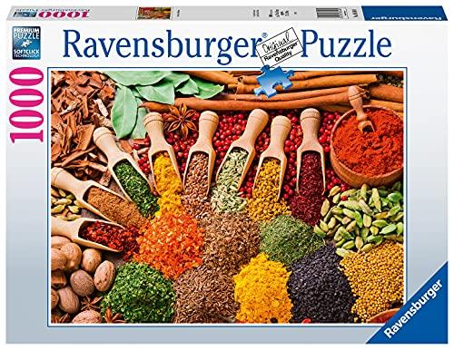 Ravensburger Puzzle 1000 Teile - Gewürze und Kräuter - Puzzle für...