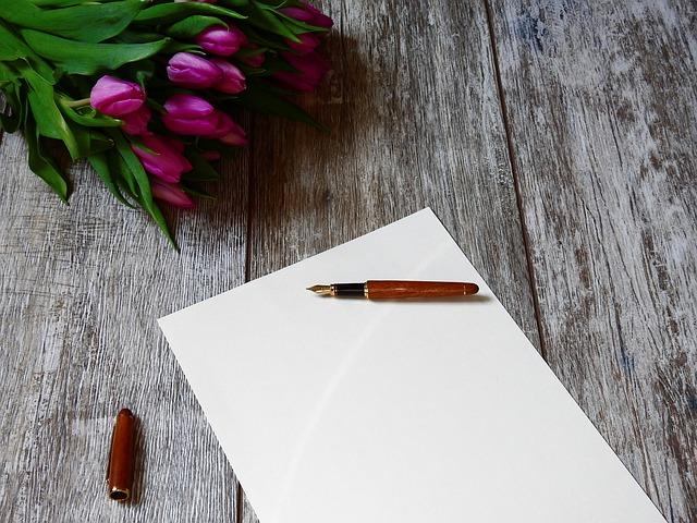 Schreib einen Liebesbrief