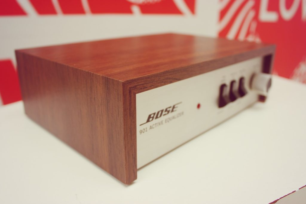 Wichtig: Der Bose 901 Equalizer