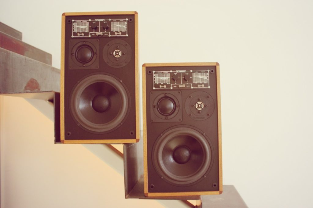 Vintage-Lautsprecher: Kirksaeter Monitor 100