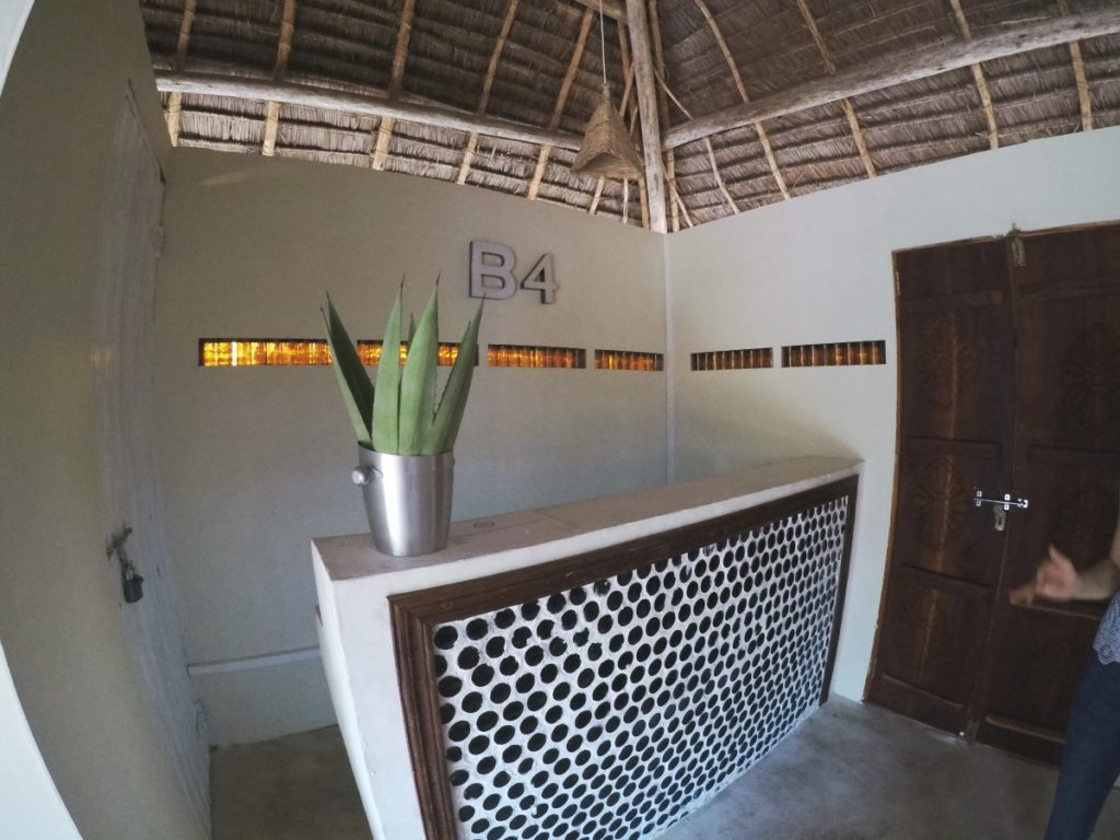 B4 Beachclub Sansibar Rezeption