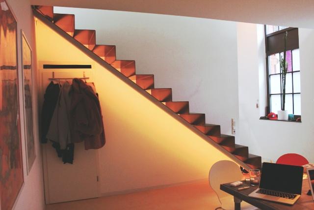 Philips hue Treppenbeleuchtung