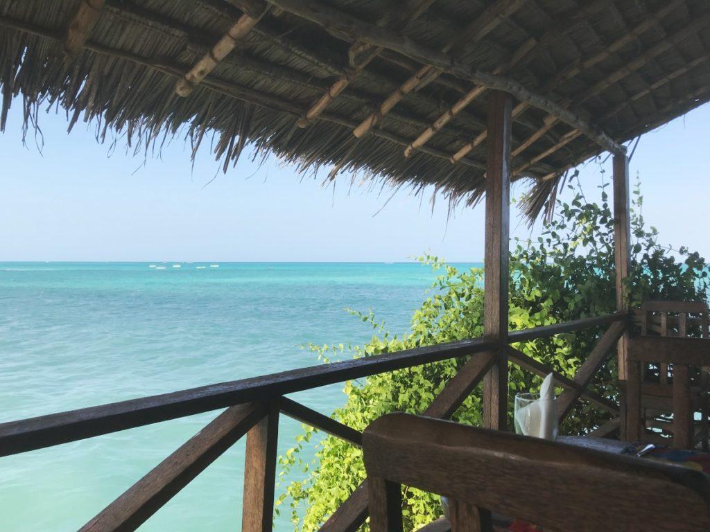 Sansibar Urlaub: The Rock Terrasse