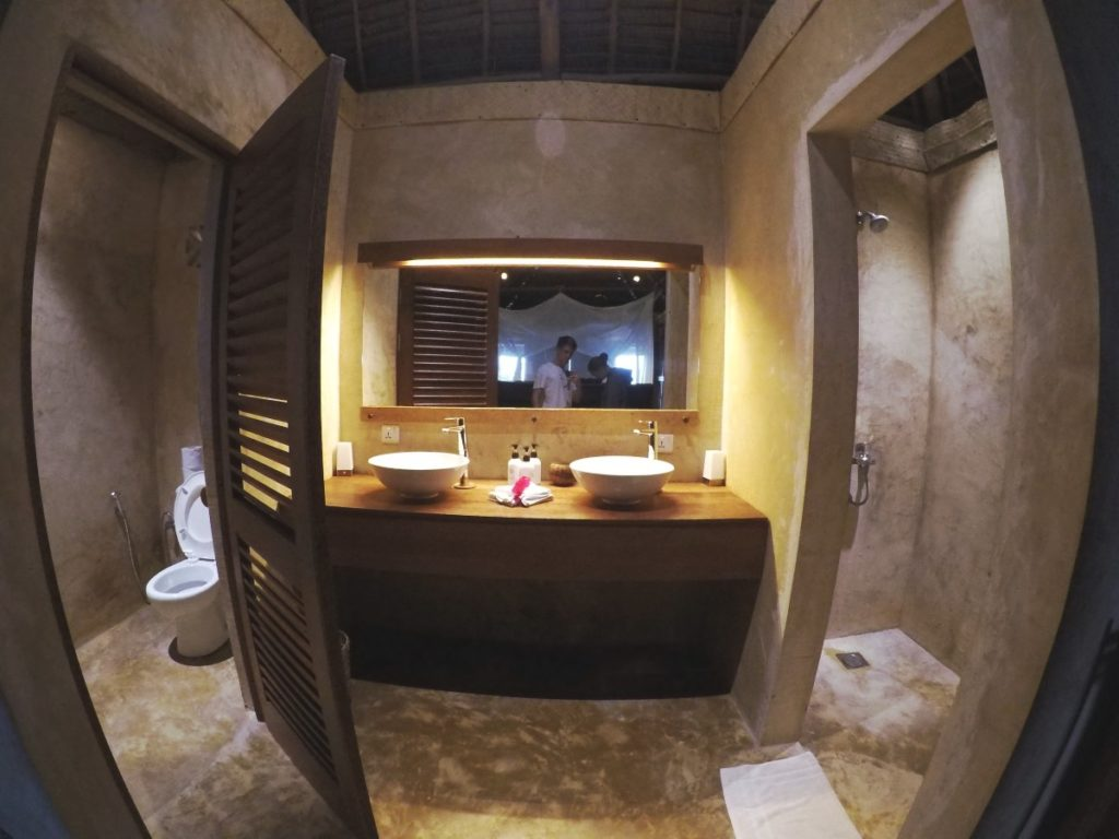 Zanzibar Bandas Badezimmer