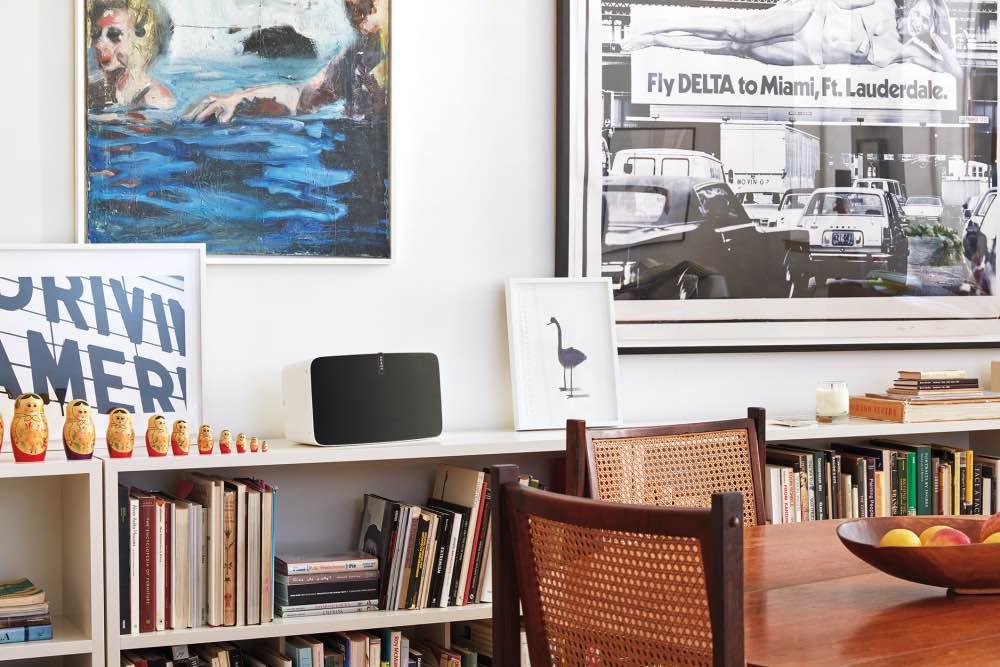 Sonos Play:5 im Wohnzimmer