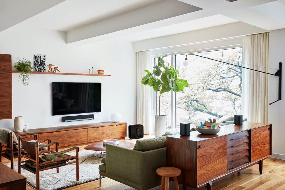 Sonos Playbar im Wohnzimmer