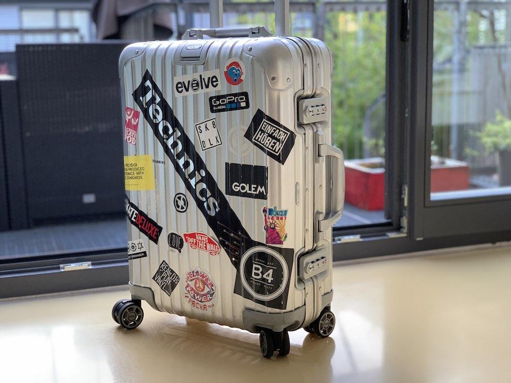 Leichter Koffer von Rimowa