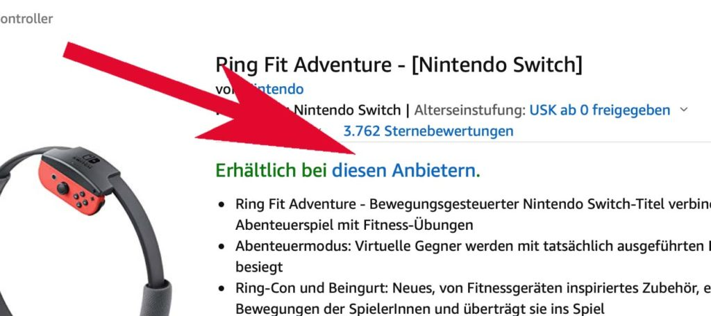Ring Fit Adventure bei Amazon.de kaufen