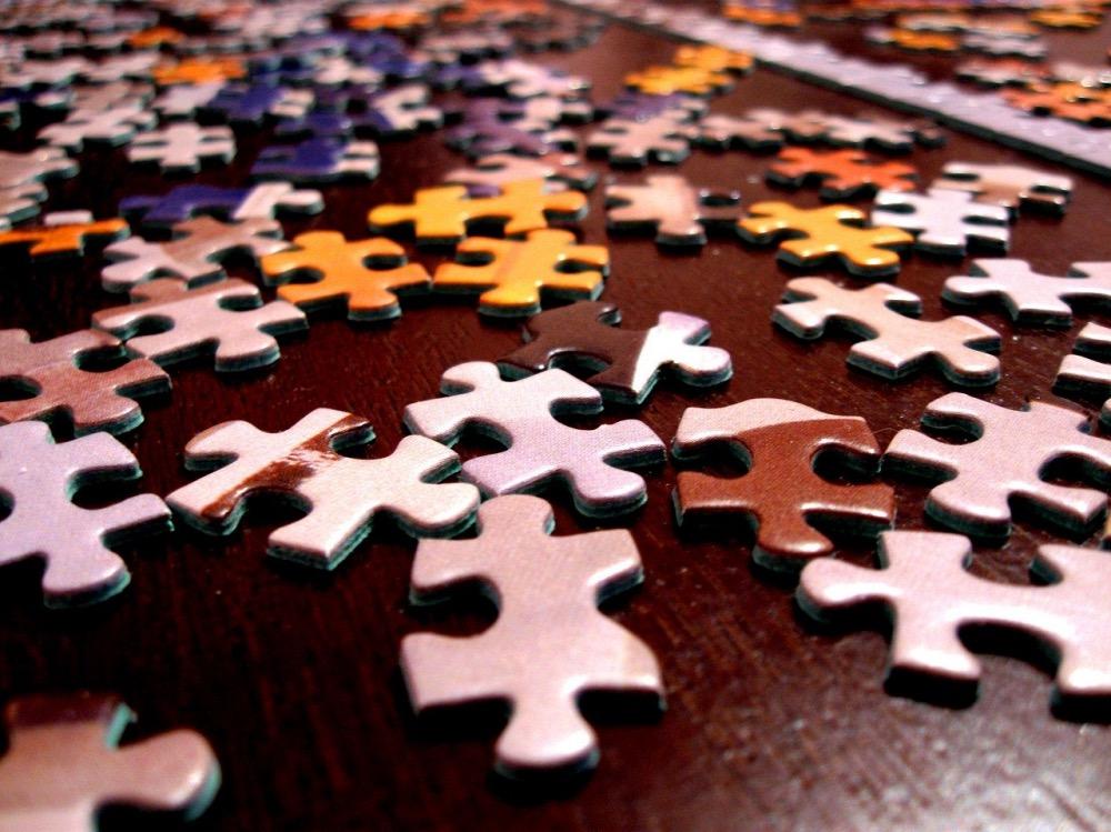 Schöne Puzzle für Erwachsene