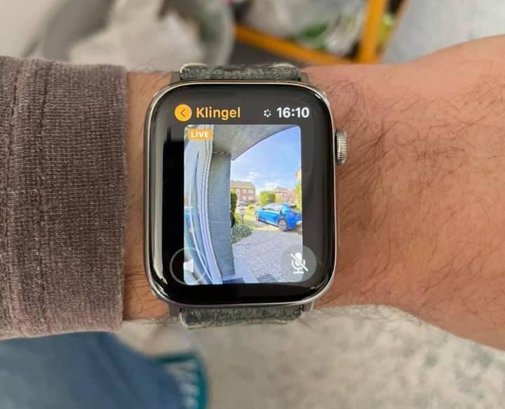 Logitech Circle View Apple Watch Türklingel