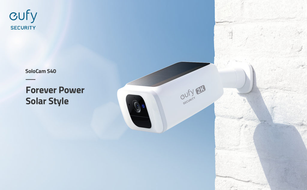 eufy Überwachungskamera mit Solar